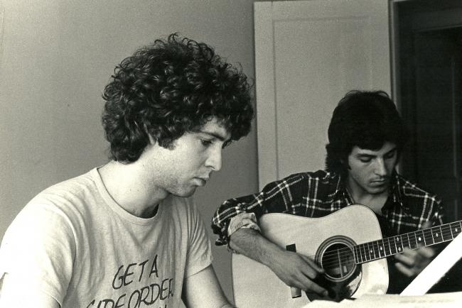 Paul & Chris, at the start of their career